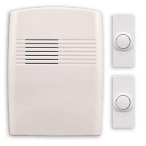 heath zenith wireless battery operated door chime kit dl