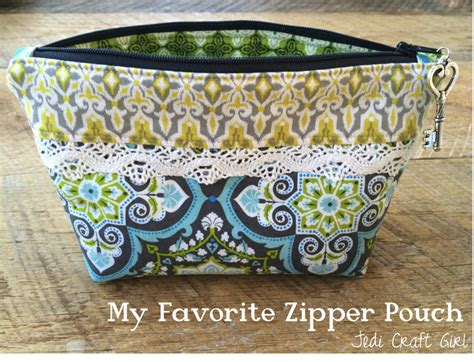 Handmade Pouch Tutorial - zipper pouch tutorials
