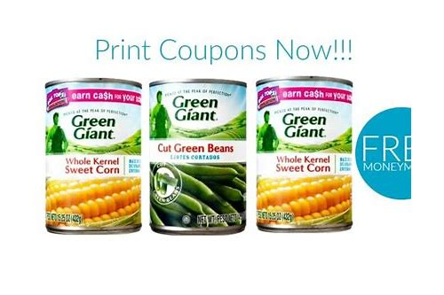 green giant canned veggies coupons