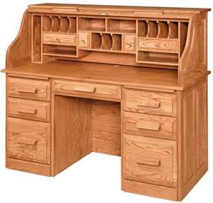 Roll Top Desk by Amish Classic Farmer S Rolltop Desk Amish Roll Top Desks