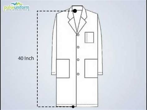 free sewing pattern lab coat pu 1016 unisex colored long lab coat made to order youtube