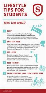 Student Success Strategies Essay by 5 Lifestyle Tips For Students Infographic Skooli