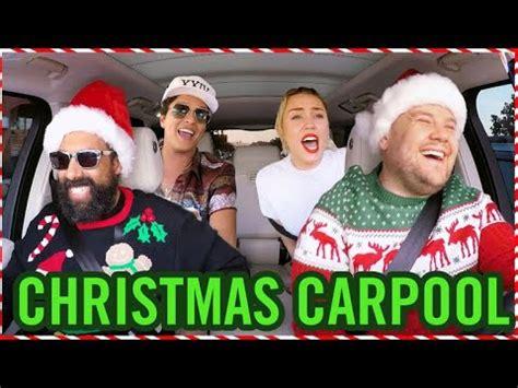 'santa claus is coming to town' on carpool karaoke