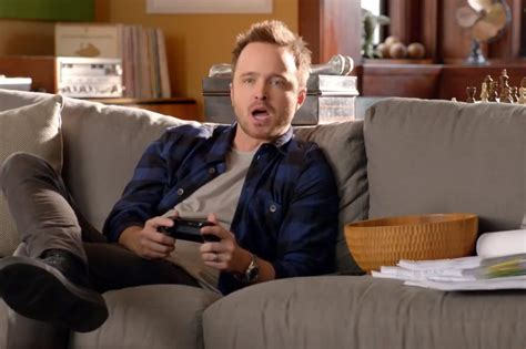 aaron paul video game aaron paul s xbox one ad accidentally turns on people s