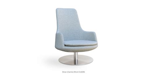 swivel occasional chairs dervish swivel contemporary occasional chair sohoconcept