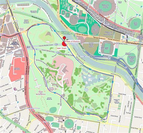 Tan Track At Royal Botanic Gardens Melbourne Map Of Melbourne Botanical Gardens