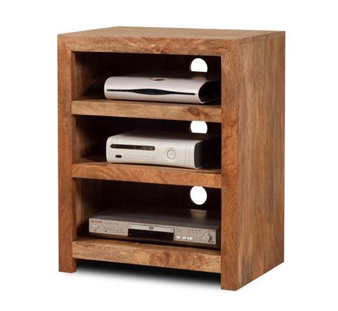Small Media Shelf by Oak Low Bookcase Small Media Shelving Unit Box Shelving