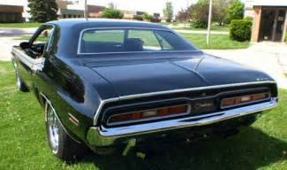 71 Dodge Challenger For Sale 1971 Dodge Challenger 440 6 Four 4 Speed Black Stroked 71