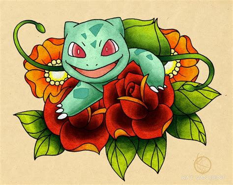 bulbasaur tattoo bulbasaur