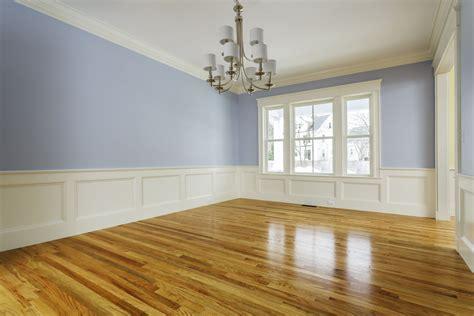 hardwood floors shiny