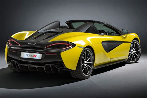 mclaren truck new mclaren 570s spider top down thrills woking style by