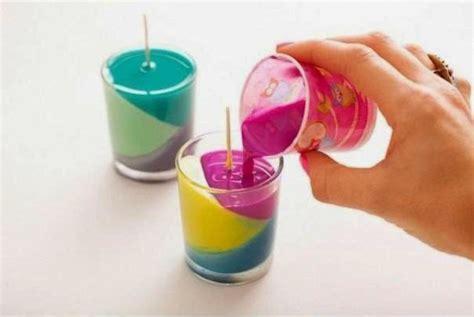 membuat kerajinan yg unik cara membuat kerajinan tangan unik lilin warna 09