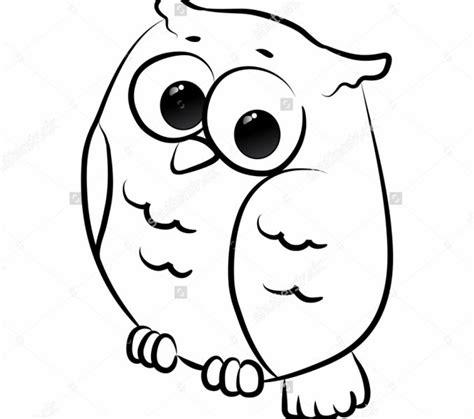 printable owl drawings owl drawing cartoon kids coloring europe travel guides com