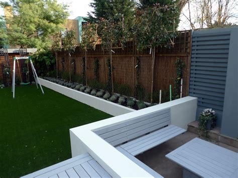 modern garden wall more picture of modern garden design balham wandsworth