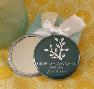 Family Reunion Favors by Personalized Family Reunion Mirrors Or Magnets
