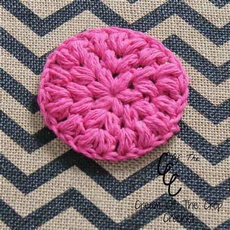 Puff Free Cotton pink puff crochet scrubbie favecrafts