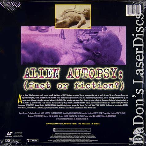 alien autopsy fact or fiction film tv 1995 premi alien autopsy fact or fiction laserdisc rare laserdiscs