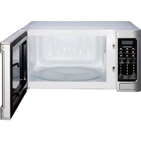 Microwave Lg Low Watt lg lcs1112sw countertop microwave oven 1000 watt white