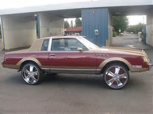 Buick Regal Donk Donk Snob Lover And Hater Of Everything Sittin On Big Wheels