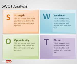 Free Swot Analysis Powerpoint Template Free Powerpoint Templates Slidehunter Com Microsoft Powerpoint Templates Swot