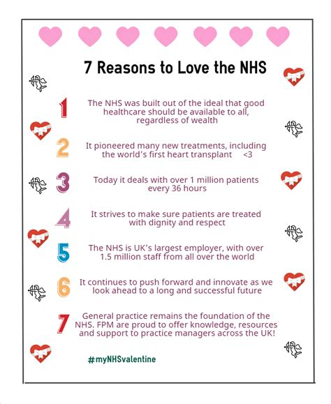 7 Reasons To Practice Hygiene by 7 Reasons To The Nhs