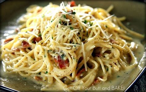 barefoot contessa alfredo sauce creamy bacon carbonara recipe chicken asparagus pasta