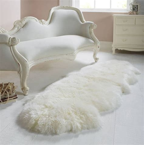 how are sheepskin rugs made white sheepskin rug home