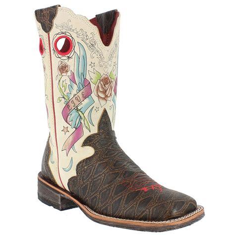 rocker boots for ariat rodeobaby rocker boots tsaa heel