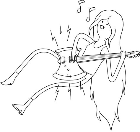 marceline airbass lineart by sephtis on deviantart