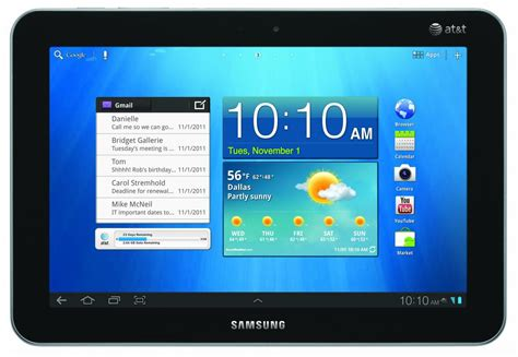 at t android tablet at t gets lte galaxy tab 8 9 sweetens the deal with a