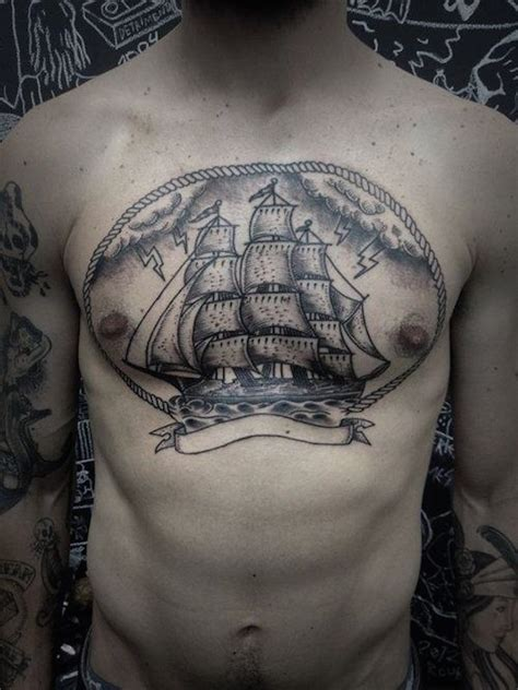 Top 144 Chest Tattoos For Men Chest Tattoos For Guys