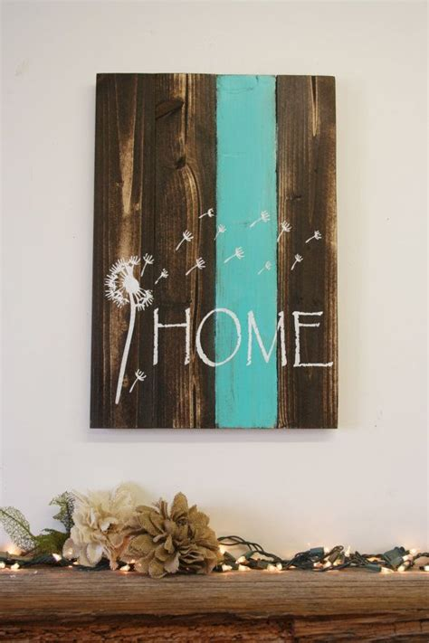 country home wall decor home pallet sign dandelion sign rustic home decor country