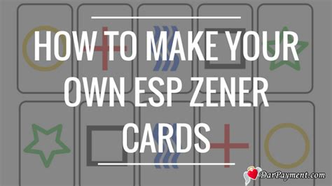 how to make your own photo cards how to make your own esp zener cards dar payment