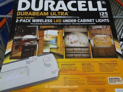 duracell led under cabinet wireless under cabinet lighting costco imanisr com