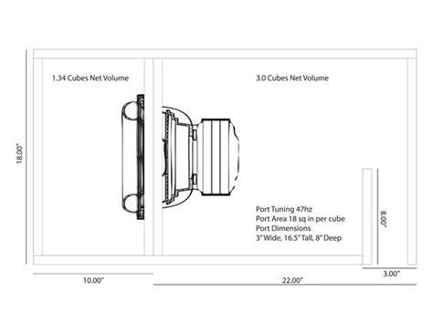 car audio subwoofer enclosure wiring diagram resource free