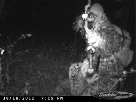 creepy shot of a guy in front of my trail camera