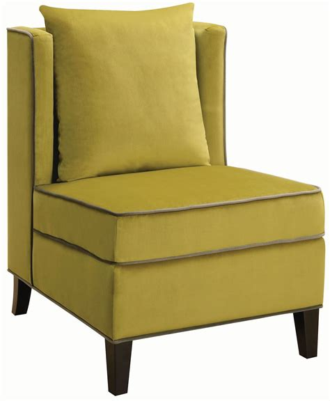 Chartreuse Chair by Chartreuse Accent Chair 902709 Coaster Furniture