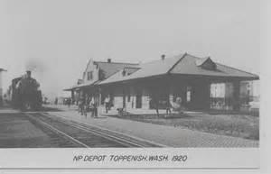 toppenish washington 1920 northern pacific depot
