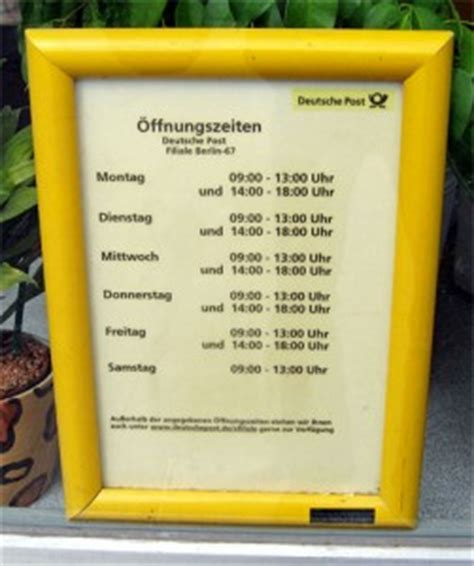 Post Office Hours Sunday by Shopping Hours In Germany The German Way More