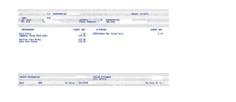 format penyata gaji bulanan zuldandunia sistem e penyata gaji dan laporan