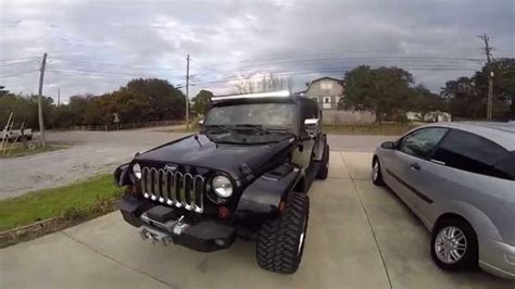 jeep jk 50 light bar 50 inch light bar led jeep jk unlimited
