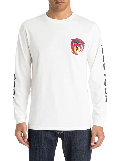 boys tour sleeves t shirt eqyzt03579 quiksilver