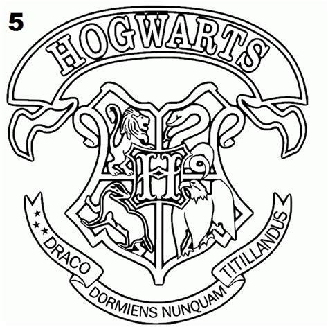 harry potter coloring pages ravenclaw hogwarts crest coloring page coloring home