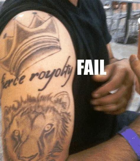 tattoo fail misspell fierce royolty tattoo typos aka fails pinterest