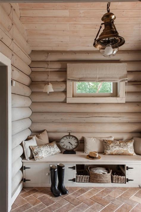 Log Home Interior Walls by 10 Exles Of Log Walls Town Country Living