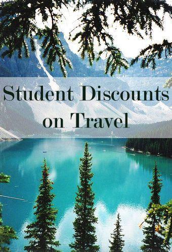 get student discounts on travel flights rental cars hotels etc