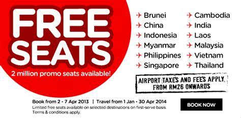 airasia dreams come true jz world airasia free seats is back