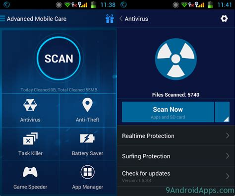 mobile care apk free paid amc security advanced mobile care v4 2 0 apk