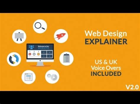 Web Design Explainer After Effects Template Youtube Explainer Templates After Effects