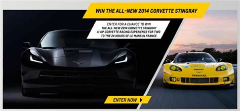 Win A Corvette Sweepstakes - the race to win corvette sweepstakes is back corvette sales news lifestyle